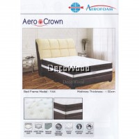 DECO AEROFOAM BY MYLATEX AEROCROWN POCKET SPRING 12 INCH THICK Premium Solid Spring Mattress Mattress Tilam Tidur Nap Bed Mattress With 10 Years Warranty