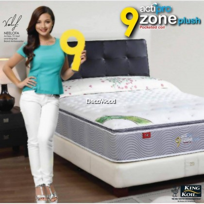 King Koil ActiPro Pocketed Spring 13 Inch Mattress Tilam