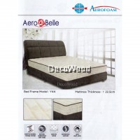AEROFOAM BY MYLATEX AEROBELLE 8.8 INCH MIRA-COIL THICK Premium Solid Mattress With 10 Years Warranty AERO BELLE