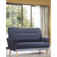 2 Seater SOFA Fully Fabric Sofa Lounge Chair Relax Sofa Fabric Sofa Series Sofa Stool Couch Bed Furniture Living Room Sofa
