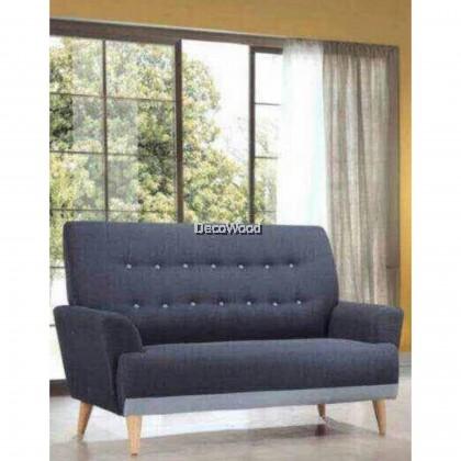 2 Seater SOFA Fully Fabric Sofa Lounge Chair Relax Sofa Fabric Sofa Series Sofa Stool Couch Bed Furniture Living Room Sofa