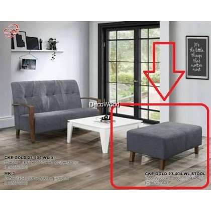 Fabric Sofa / Laz Vegas / Grey Sofa / 2+3 Sofa Set / Sofa / Ruang Tamu