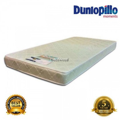 Dunlopillo by Othorest Seagull 5 Inch Thick Latex Foam HD Density Natural Foam Mattress Single / Queen / King Size