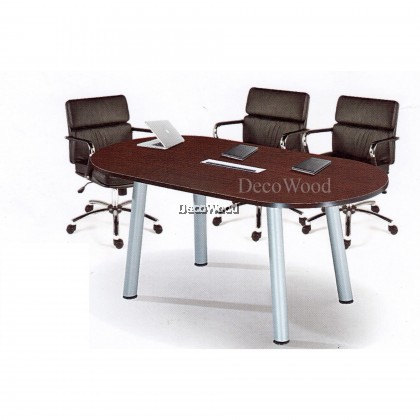 DECO 6 FEET OFFICE TABLE OFFICE DESK OFFICE MEETING TABLE DISCUSSION TABLE WRITING TABLE STUDY TABLE DIRECTOR TABLE BOSS TABLE CLERK TABLE STAFF TABLE CONFERENCE TABLE DINING TABLE RESTING TABLE STAFF TABLE QO18 1800MM(L) X 900MM(D) X 750MM(H)