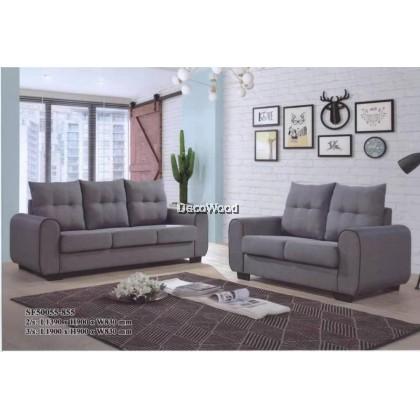 ONYX Bangkok Sofa 2+3 Seater Fully Fabric Sofa / Lounge Chair / Relax Sofa / Relax Chair / Leather Sofa / Sofa Santai