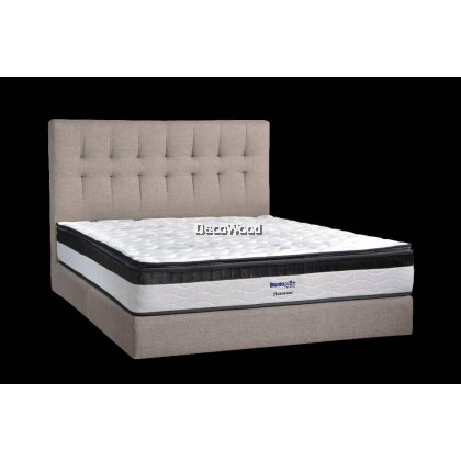 *New Arrival* Dunlopillo 10.5 Inches Harmoni Klasik Series SuperCOIL Technology Mattress Tilam With Official Dunlopillo 12 Years Warranty