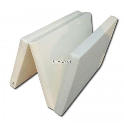 DREAMLAND Premium Solid Single Size Rebond Foam Foldable Mattress/Single Tilam/Single Size Bed Mattress/Single Mattress/Foldable Mattress/Tilam Lipat Single/Tilam Single Lipat With 10 Years Warranty