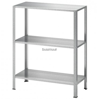 Half Height Metal Storage Rack / Storage Shelf / Storage Filing Rack / Filing Shelf / Office Rack / Office Cabinet / Office Shelf / Cabinet Rak / Besi Kabinet Besi L600MM X W270MM X H740MM