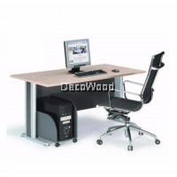 DECO OFFICE TABLE WITH CPU HOLDERS OFFICE DESK OFFICE MEETING TABLE DISCUSSION TABLE WRITING TABLE STUDY TABLE DIRECTOR TABLE BOSS TABLE CLERK TABLE STAFF TABLE MAPLE COLOR TT128