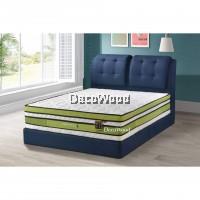 3M by DecoWood Leaf14 Inch Mattress Super Pillow Top Double Posture Spring Mattress Mattress Tilam