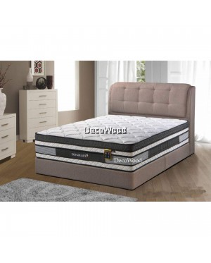 3M by DecoWood Eco Galaxy 14 Inch Mattress Super Pillow Top Double Posture Spring Mattress Mattress Tilam