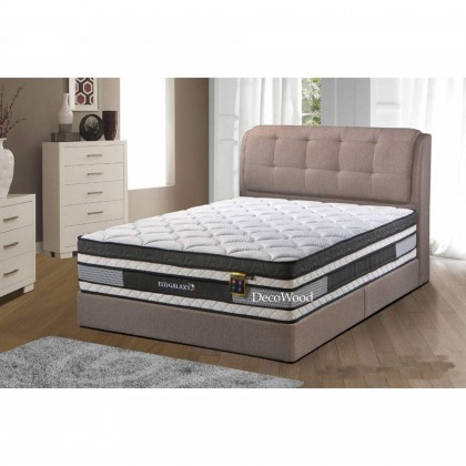 3M by DecoWood Eco Galaxy 14 Inch Mattress Super Pillow Top Double Posture Spring Mattress Mattress Tilam