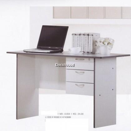 4-Feet Writing Table Writing Desk/Office Table/Study Table/Writing Table/Reading Table/Meja Solek/Meja Tulis/Meja Lukis L1200MM X D450MM X H740MM