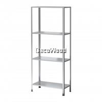 Deco Metal Storage Rack Storage Shelf Storage Filing Rack Filing Shelf Office Rack Office Cabinet Office Shelf Cabinet Rak Besi Kabinet Besi L600MM X W270MM X H1400MM