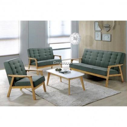 1+2+3 Fabric Sofa Set With Free Coffee Table Hall Sofa Lounge Chair Relax Sofa