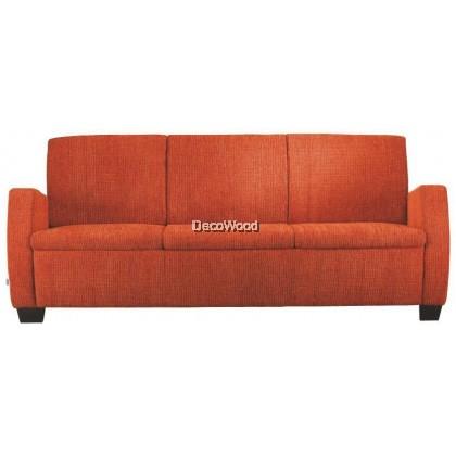 Full Leather Triple Seater Sofa / Lounge Sofa / Hall Sofa / Relax Sofa / Sofa Santai W1940MM X D780DMM X H800MM