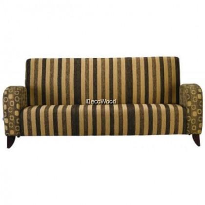 Full Leather Triple Seater Sofa / Lounge Sofa / Hall Sofa / Relax Sofa / Sofa Santai W1990MM X D770DMM X H880MM