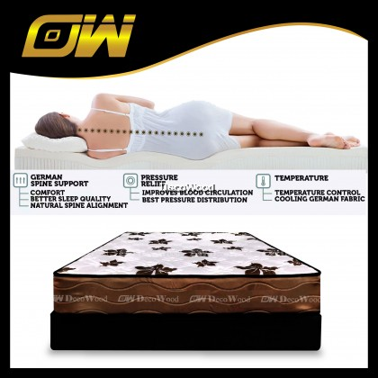 *Free Shipping T&C Applies* Dr Latex Wise 9 inch Single Size Mattress Ready Stock / Tilam Dr.Latex 10 years warranty anti dustmite