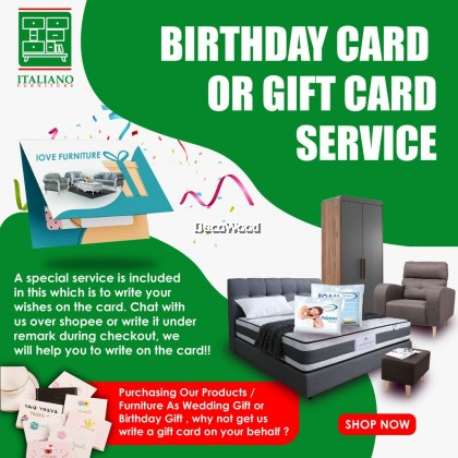 Birthday Cards Or Special Wishes Gift Card Services