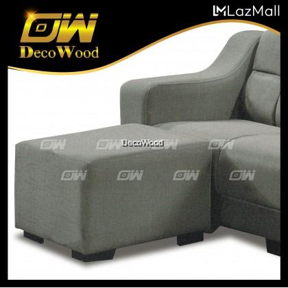 Austin 3 Seater L-SHAPE Sofa Fully Leather Sofa / Lounge Chair / Relax Sofa / Relax Chair / Fabric Sofa / Sofa Santai RC