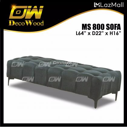 Long Bench Stool / Hall Chair / Living Chair / Kerusi Hiasan L160mm X W550mm X H400mm RC
