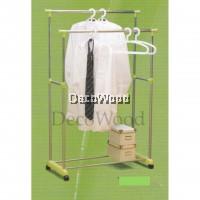 3V CHROME Indoor/Outdoor Anti-Rust Towel Hanger/Clothes Dryer/Outdoor Hanger/Outdoor Dryer/Towel Hanger/Panties Hanger/Pants Hanger/Shirt Hanger/Baju Hanger Pre Order 1 Week