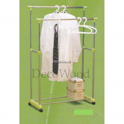 3V CHROME Indoor/Outdoor Anti-Rust Towel Hanger/Clothes Dryer/Outdoor Hanger/Outdoor Dryer/Towel Hanger/Panties Hanger/Pants Hanger/Shirt Hanger/Baju Hanger Pre Order 1 Week