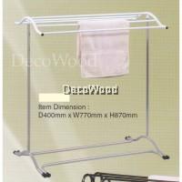 3V Indoor/Outdoor Anti-Rust Towel Hanger/Clothes Dryer/Outdoor Hanger/Outdoor Dryer/Towel Hanger/Panties Hanger/Pants Hanger/Shirt Hanger/Baju Hanger L770MM X W400MM X H870MM