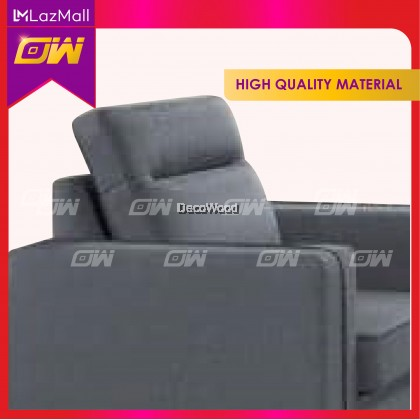 Metallica 1 / 2 / 3 / SET Seater Sofa Fully Fabric Sofa / Lounge Chair / Relax Sofa / Relax Chair / Fabric Sofa / Sofa Santai 3861123
