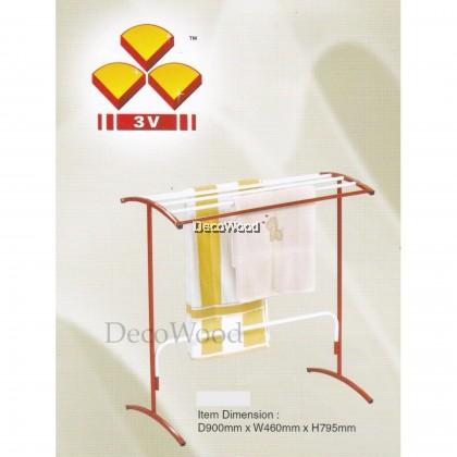3V Indoor/Outdoor Anti-Rust Towel Hanger/Clothes Dryer/Outdoor Hanger/Outdoor Dryer/Towel Hanger/Panties Hanger/Pants Hanger/Shirt Hanger/Baju Hanger L900MM X W460MM X H795MM