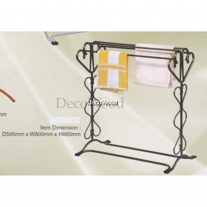 3V Indoor/Outdoor Anti-Rust Towel Hanger/Clothes Dryer/Outdoor Hanger/Outdoor Dryer/Towel Hanger/Panties Hanger/Pants Hanger/Shirt Hanger/Baju Hanger L595MM X W800MM X H865MM Pre Order 2 Week