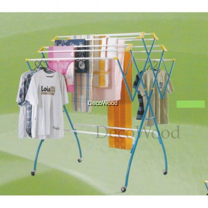 3V 12-Bars Outdoor Anti-Rust Clothes Hanger/Clothes Dryer/Outdoor Hanger/Outdoor Dryer/Towel Hanger/Panties Hanger/Pants Hanger/Shirt Hanger/Baju Hanger Pre Order 1 Week