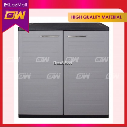 PP Grey Shoes Cabinet / Water Proof Cabinet / Shoes Rack / Rak Kasut / Shoes Cabinet / Shoes Storage / Rak Kasut / Kabinet Kasut H940MM X W760MM X D400MM