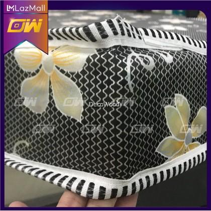 Dr.Latex 8 Inch Latex Foam Posture Mattress ( Random Flower Color ) / Queen Mattress / Tilam - Queen Size
