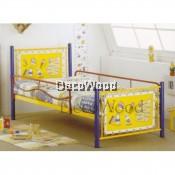 Cartoon Single Size Metal Bedframe/Single Metal Bed/Baby Bed/Single Bed/Kids Bedframe/Children Bed/Adult Bedframe/Large Bed/Homestay Bed/Master Bedroom Bed/Katil Besi Kuat Pre Order 1 Week
