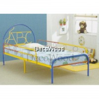 ABC Single Size Metal Bedframe/Single Metal Bed/Baby Bed/Single Bed/Kids Bedframe/Children Bed/Adult Bedframe/Large Bed/Homestay Bed/Master Bedroom Bed/Katil Besi Kuat
