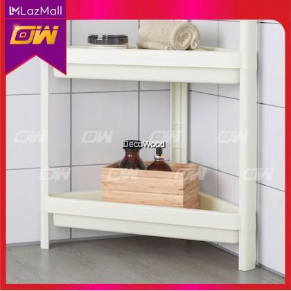 PP Plastic Storage Rack / Bathroom Storage / Storage Shelf / Storage Rack / Cabinet Rak / Besi Kabinet