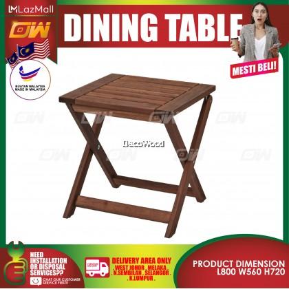 Folding Table Outdoor Table 40CM X 38CM / Garden Set / Meja Makan Santai Luar / Pool Side Set / Outdoor Set