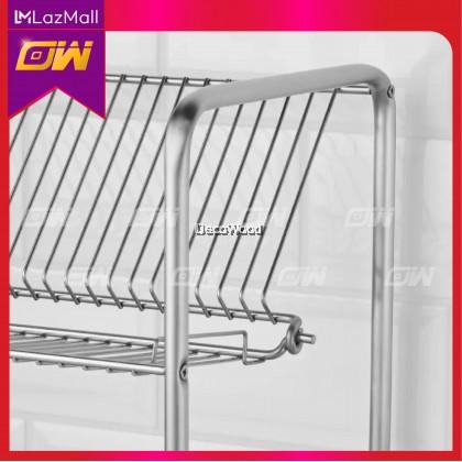 Stainless Steel Dish Rack / Plate Rack / Bowl Rack / Multi-Function Rack / Cup Rack / Cloth Rack / Storage Rack
