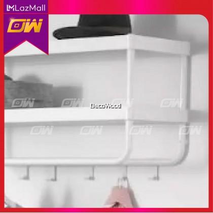 White Indoor Hat & Clothes Hanger 78CM / Towel Hanger / Anti-Rust Cloth Hanger / Drying Rack / Outdoor Clothes Hanger / Drying rack, 2 levels,  78x46x185 cm