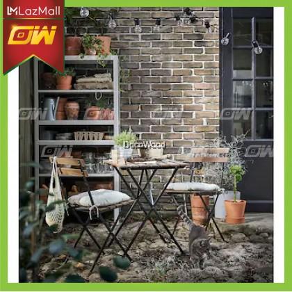 Folding Table Outdoor Table 55CM X 54CM / Garden Set / Meja Makan Santai Luar / Pool Side Set / Outdoor Set
