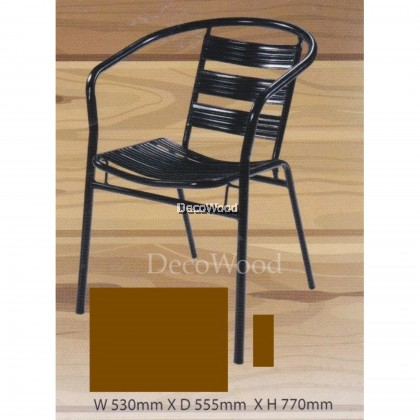 2 UNITS x Ready-Fixed Outdoor Garden Chair/Outdoor Chair/Patio Chair/Patio Bench/Smoking Area Bench/ Bench Chair/Resting Area Chair/Staff Room Bench/Waiting Chair/Waiting Bench L530MM X W550MMX H770MM Pre Order 1 Week
