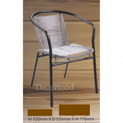 2 UNITS x Ready-Fixed Outdoor Garden Cushion Chair/Outdoor Chair/Patio Chair/Patio Bench/Smoking Area Bench/ Bench Chair/Resting Area Chair/Staff Room Bench/Waiting Chair/Waiting Bench L550MM X W470MMX H900MM Pre Order 1 Week