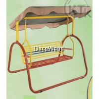 L SIZE Metal Solid Garden Swing With Roof/Metal Swing/Children Playground/Children Toy/Toys/Indoor Swing/Outdoor Swing/Relax Chair/Patio Chair/Patio Swing Pre Order 1 Week
