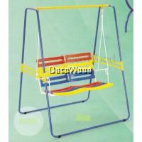 Metal Solid Garden Swing/Metal Swing/Children Playground/Children Toy/Toys/Indoor Swing/Outdoor Swing/Relax Chair/Patio Chair/Patio Swing (Copper Hammerstone Colour) Pre Order 1 Week