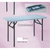 3-Feet Rectangular Plastic Table/Dining Table/Writing Table/Mamak Table L900MM X W600MM X H750MM
