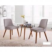 1 Table + 2 Cushion Lounge Chair Relax Sofa Set Relax Area (Brown Colour) L510MM X W510MM X H540MM Pre Order 1 Week