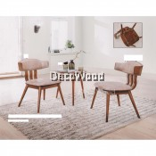 1 Table + 2 Sofa Seater Sofa Set Lounge Chair Relax Sofa (Light Brown Colour) L510MM X W510MM X H540MM Pre Order 1 Week