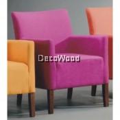 1 Seater Fabric Sofa Lounge Chair Relax Sofa