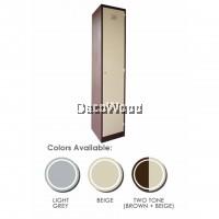 1-Door Metal Compartment Locker Storage Workers Cabinet L380MM X W380MM X H1830MM